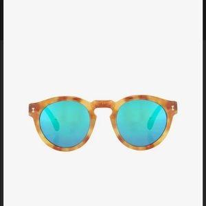 Illesteva Leonard amber sunglasses